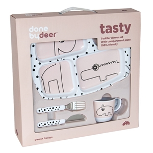 Done By Deer Σετ Φαγητού Toddler Happy Dots Powder