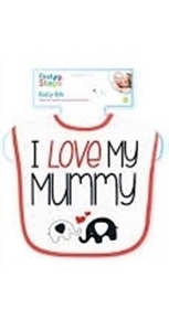 First Steps Σαλιάρα Love Mummy