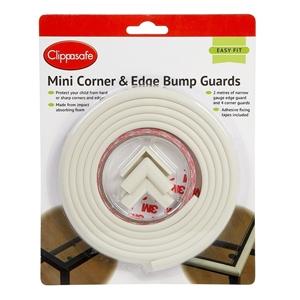 Clippasafe Mini Corner & Edge Guard 2 μέτρα + 4 γωνίες