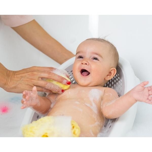 Ok Baby Αντιολισθητική Βάση Μπάνιου Jelly White
