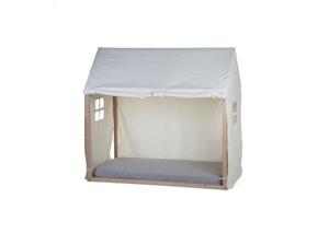 Childhome Κάλυμμα White Για TIPI Natural Πλαίσιο Kρεβατιού 70*140 cm