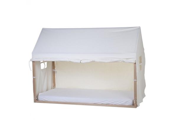 Childhome Κάλυμμα White Για TIPI Natural Πλαίσιο Kρεβατιού 90*200 cm