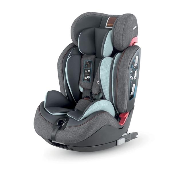 Inglesina Κάθισμα Αυτοκινήτου Gemino I-Fix 9-36kg. Grey