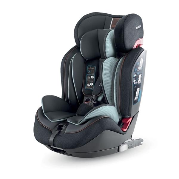 Inglesina Κάθισμα Αυτοκινήτου Gemino I-Fix 9-36kg. Black