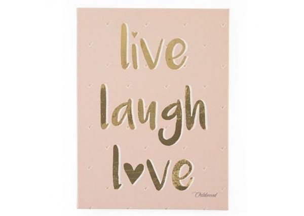 Childhome Πίνακας Live Love Laugh