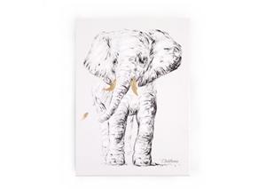 Childhome Πίνακας Κάδρο The Elephant