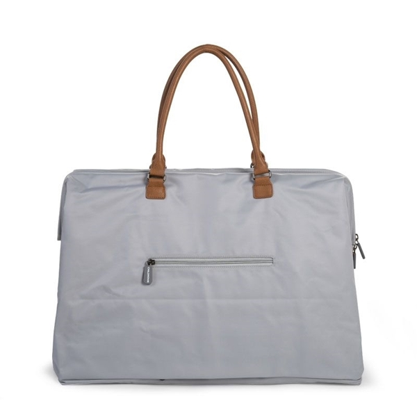 Childhome Τσάντα Αλλαγής Mommy Bag Big Grey Off White