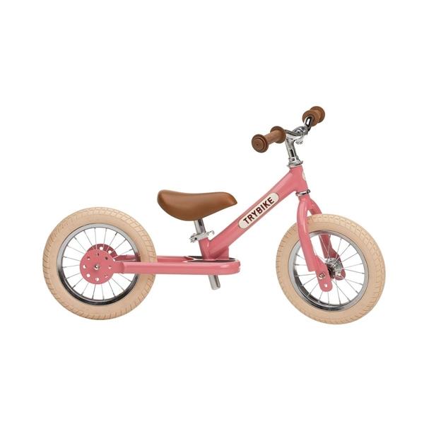 Trybike Ποδήλατο Ισορροπίας Ροζ Vintage