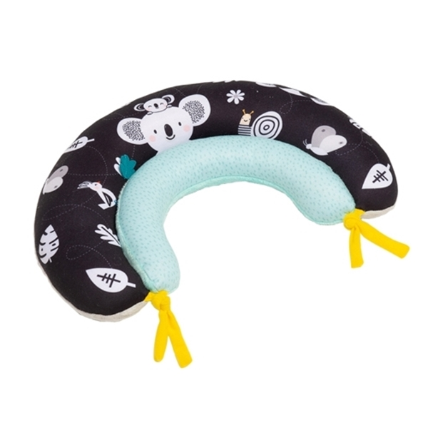 Taf Toys Μαξιλαράκι Δραστηριοτήτων 2 in 1 Tummy Time Pillow