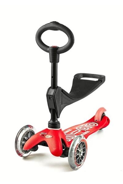Micro Mini 3in1 Deluxe - Παιδικό Πατίνι Κόκκινο