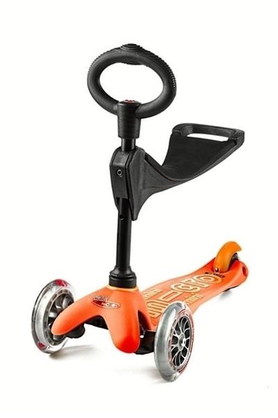 Micro Mini 3in1 Deluxe - Παιδικό Πατίνι Πορτοκαλί