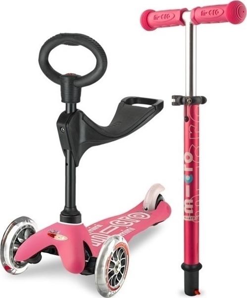 Micro Mini 3in1 Deluxe - Παιδικό Πατίνι Pink
