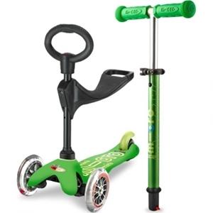 Micro Mini 3in1 Deluxe - Παιδικό Πατίνι Green