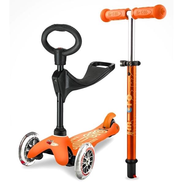 Micro Mini 3in1 Deluxe - Παιδικό Πατίνι orange