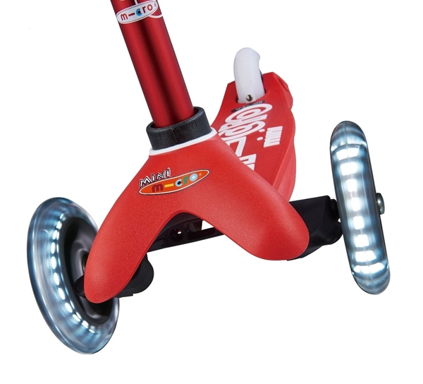 Micro Mini Deluxe LED - Παιδικό Σκούτερ Red
