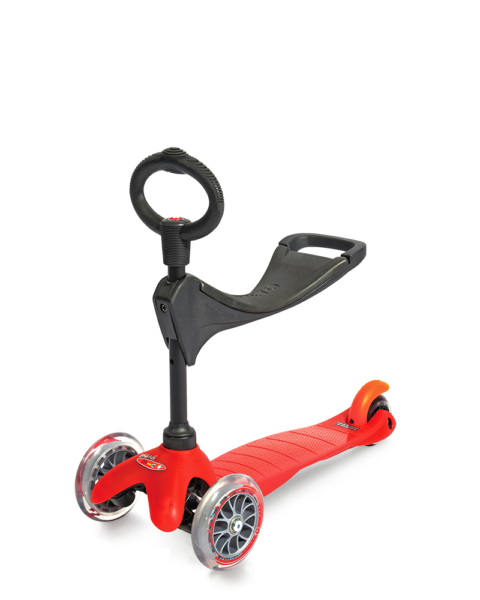 Micro Mini 3in1 - Παιδικό Πατίνι Red