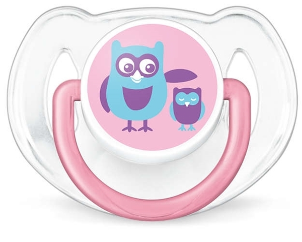 Philips Avent Κλασσική πιπίλα σιλικόνης, για κορίτσι 6-18 μηνών