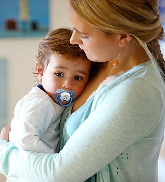 Philips Avent Κλασσική πιπίλα σιλικόνης, για αγόρι 6-18 μηνών