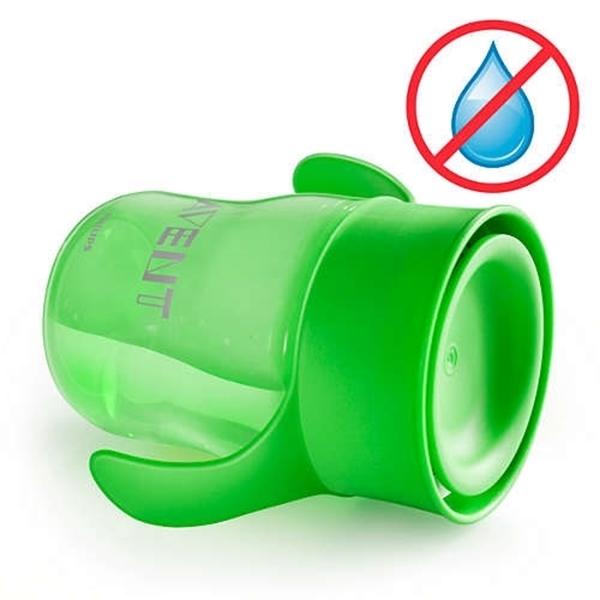 Philips Avent Κύπελλο εκμάθησης 260ml με λαβές Πράσινο