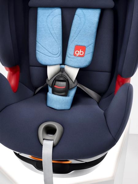 GB Κάθισμα Αυτοκινήτου Uni-All 0-36 kg. Velvet Black