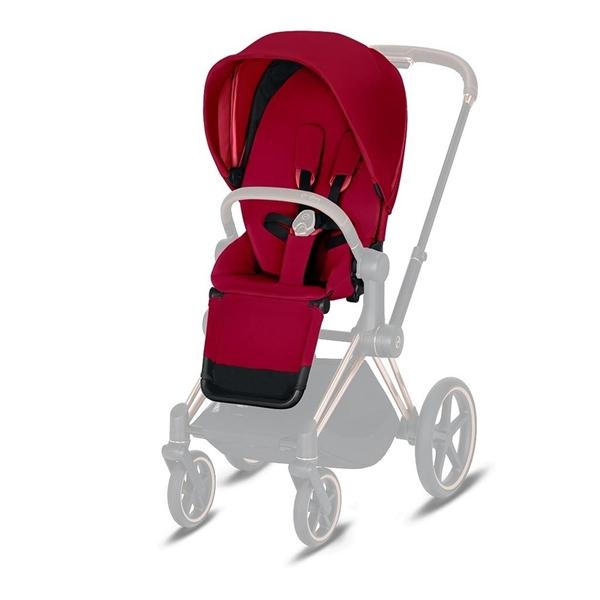 Cybex Κάθισμα Καροτσιού Priam Seat Pack, True Red
