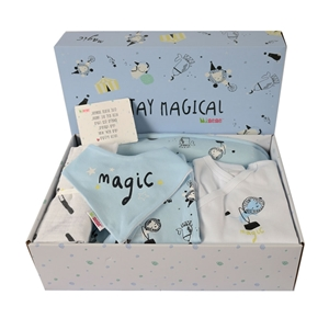 Minene Unique Gift Box Circus - Light Blue