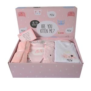 Minene Unique Gift Box Kitten - Light Pink