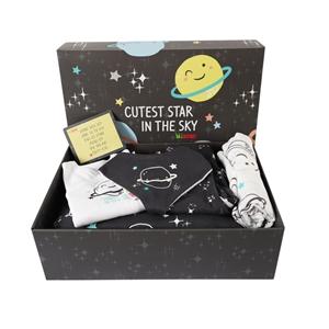 Minene Unique Gift Box Space - Black
