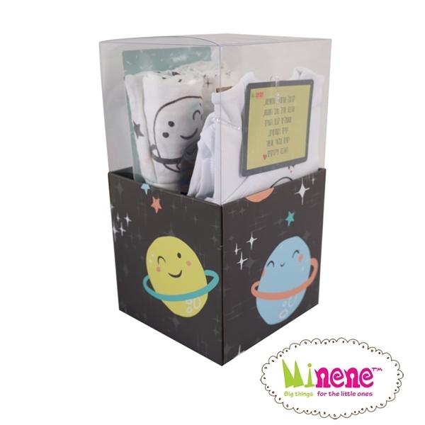 Minene Square Gift Box Space - Black