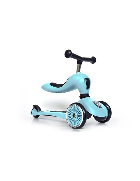 Scoot and Ride Ποδήλατο Ισορροπίας & Πατίνι 2 σε 1 HighWayKick 1, Blueberry
