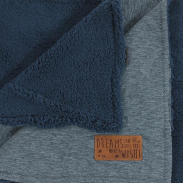 Minene Comfy Κουβέρτα Denim Blue