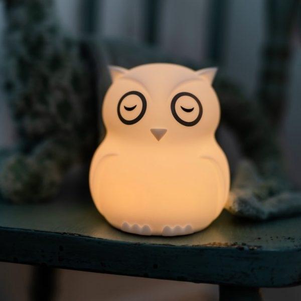 bbluv Φορητό φωτάκι νυκτός από σιλικόνη (USB φόρτιση) Hibu