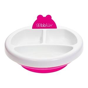 bbluv Θερμαινόμενο Πιάτο 3 Θέσεων Plato Χρώμα Pink