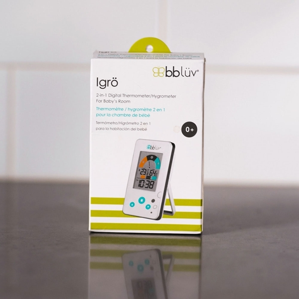 bbluv Ψηφιακό Θερμόμετρο/ Υγρόμετρο 2 σε 1 Igro