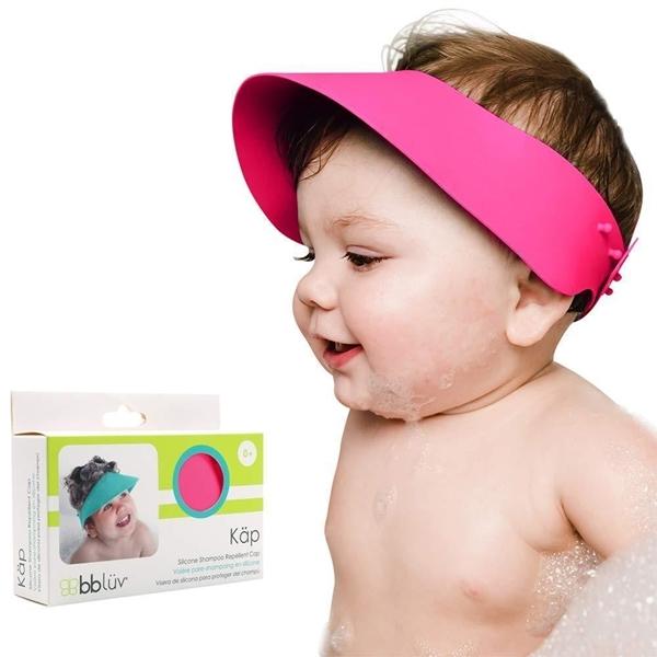 bbluv Γείσο Σιλικόνης Προστατευτικό Ματιών κατά το Λούσιμο Pink