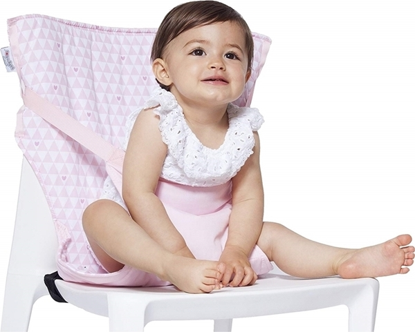 Baby To Love Pocket Chair - Pink Hearts