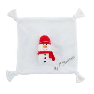 Bizzi Growin Snowman Κουδουνίστρα και Πανάκι Παρηγοριάς