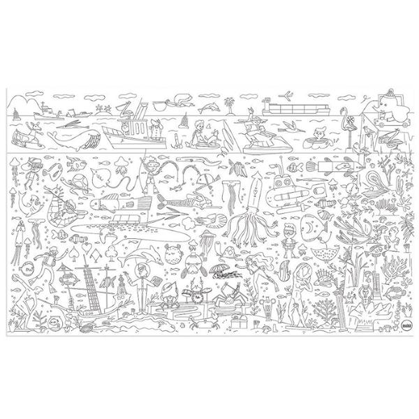 Makii - Ζωγραφίζω το Γιγάντιο Βυθό