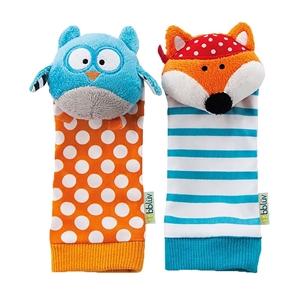 bbluv Κάλτσες με κουδουνίστρα Κουκουβάγια & Αλεπού