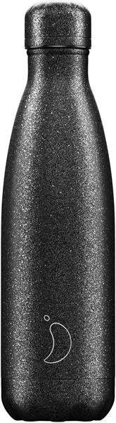 Chillys Θερμός Για Υγρά Glitter Black 500ml.
