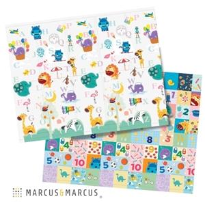 Marcus & Marcus Βρεφικό Χαλάκι για μπουσούλημα 2 Όψεων ABC foldable 200 Χ 150 cm