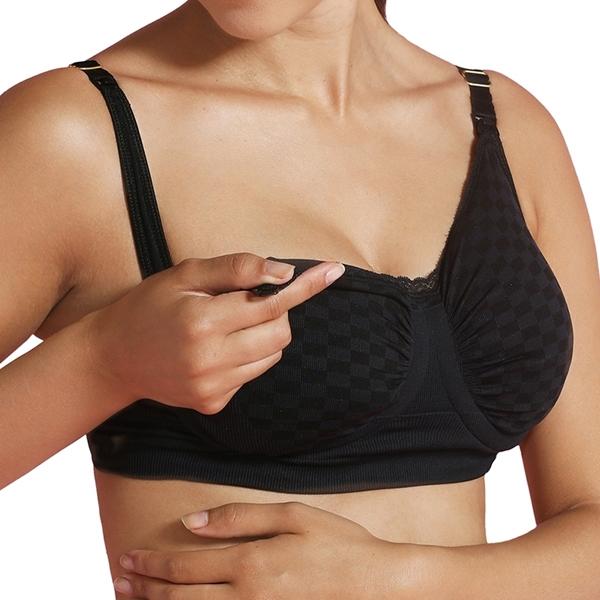 CarriGel™ Σουτιέν Θηλασμού Black Check