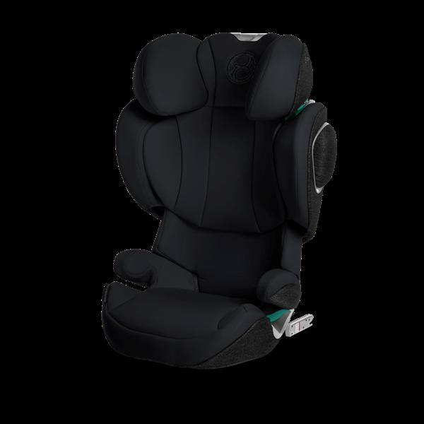 Cybex Παιδικό Κάθισμα Αυτοκινήτου Solution Z i-Fix Deep Black 15-36kg.
