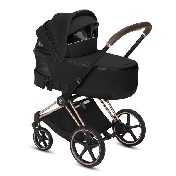 Cybex Lux Carry Cot for Priam Fashion Collection, Spring Blossom Light