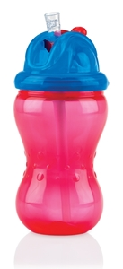 Nuby Flip It & No-Spill It 335 ml Red
