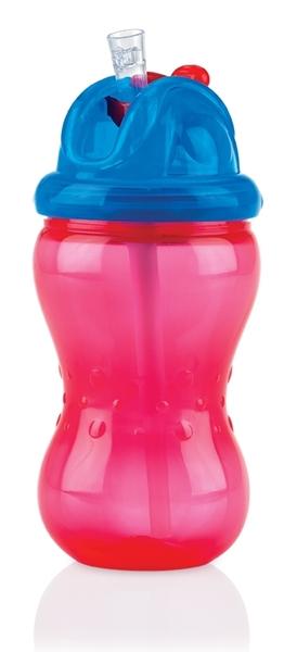 Nuby Flip It & No-Spill It 335 ml Red