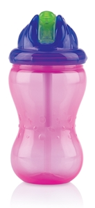 Nuby Flip It & No-Spill It 335 ml Pink