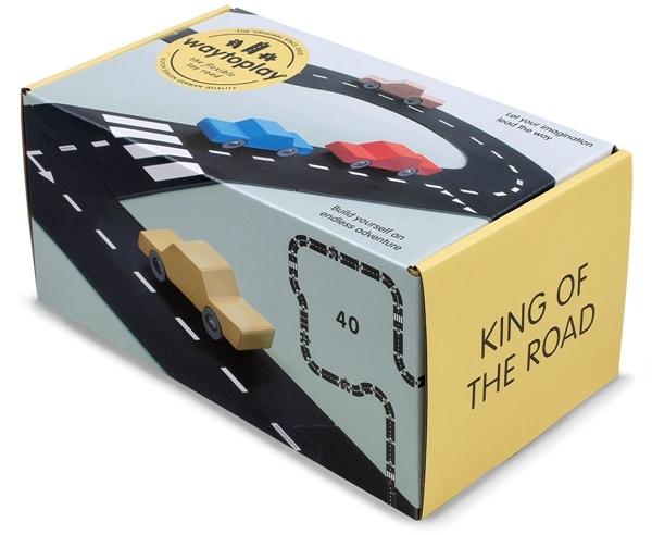 """WayToPlay Σετ Αυτοκινητόδρομος """"Βασιλιάς του δρόμου"""""""