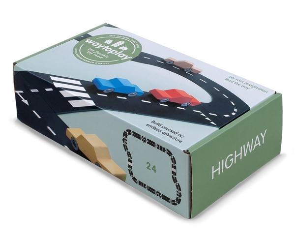 WayToPlay Σετ Αυτοκινητόδρομος Highway