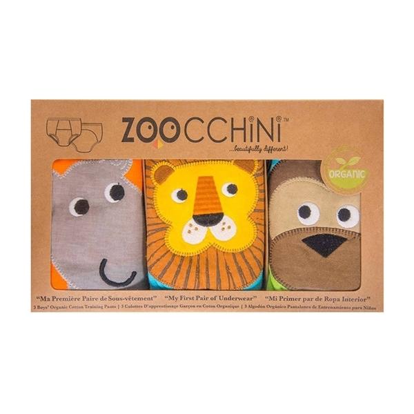 Zoocchini Εκπαιδευτικά Βρακάκια – Boys Safari Friends